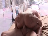 Follando en un camión transparente - Zorras
