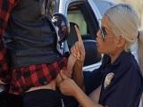 Como se las gasta la policía Bridgette B - Españolas
