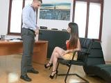 Secretaria muy guarra follada por el jefe.. - Sexo Duro