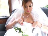 El chófer acabó enculando a la novia - Anal