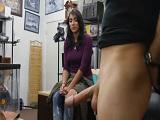 Latina follando al jefe en el almacén - Latinas