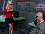 La nueva profesora andaba caliente - Tetonas