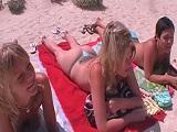 Sexo con tres amigas en Mallorca - Orgias