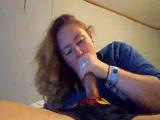 Tremenda mamada casera de una amiga mía - Webcams
