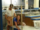 No se cortan y follan en la lavandería - Amateur