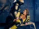 La Power Ranger acaba bien follada - Anal